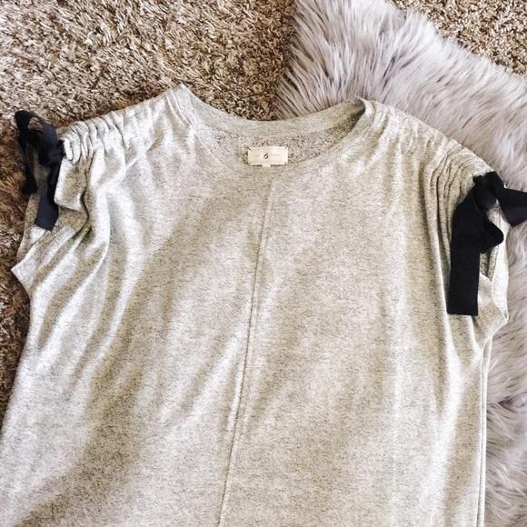 213ac482077 Lou   Grey Dresses   Skirts - lou   grey ruched ribbon drawstring sleeve  dress
